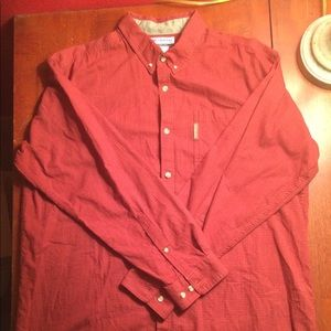 Columbia Men's Red Long Sleeve XL